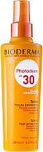Духи, Парфюмерия, косметика Солнцезащитный спрей для чувствительной кожи - Bioderma Photoderm Spf30 High Protectin Spray