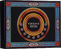 Духи, Парфюмерия, косметика Versace Pour Femme Dylan Blue - Набор (edp/50ml + b/l/50ml + s/g/50ml)