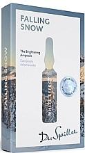 Духи, Парфюмерия, косметика Ампульный концентрат для выравнивания тона кожи - Dr. Spiller White Effect Falling Snow The Brightening Ampoule