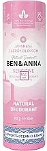 "Духи, Парфюмерия, косметика Дезодорант ""Японская сакура"" (картон) - Ben&Anna Natural Natural Deodorant Sensitive Japanese Blossom"