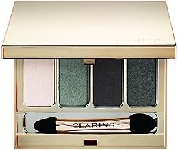 Духи, Парфюмерия, косметика Четырехцветные тени для век - Clarins 4-Colour Eyeshadow Palette