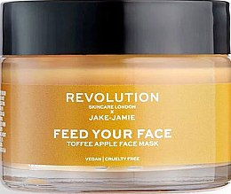 Духи, Парфюмерия, косметика Маска для лица с экстрактом яблока - Makeup Revolution Skincare Feed Your Face Toffee Apple Mask