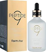 Духи, Парфюмерия, косметика Ампульная сыворотка с комплексом из 9 пептидов - Farmstay Peptide 9 Super Vitalizing Ampoule