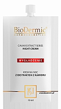 Духи, Парфюмерия, косметика Крем для лица ночной - BioDermic Caviar Extract Night Cream (мини)