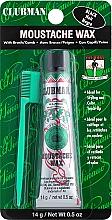 Духи, Парфюмерия, косметика Воск для укладки и подкрашивания бороды с щеточкой - Clubman Pinaud Moustache Wax