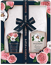 Духи, Парфюмерия, косметика Набор - Baylis & Harding Boudoire Rose Slipper Set (b/lot/140ml + b/salt/100g + acc)