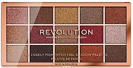 Духи, Парфюмерия, косметика Палетка теней для век - Makeup Revolution Foil Frenzy Eye Shadow Palette