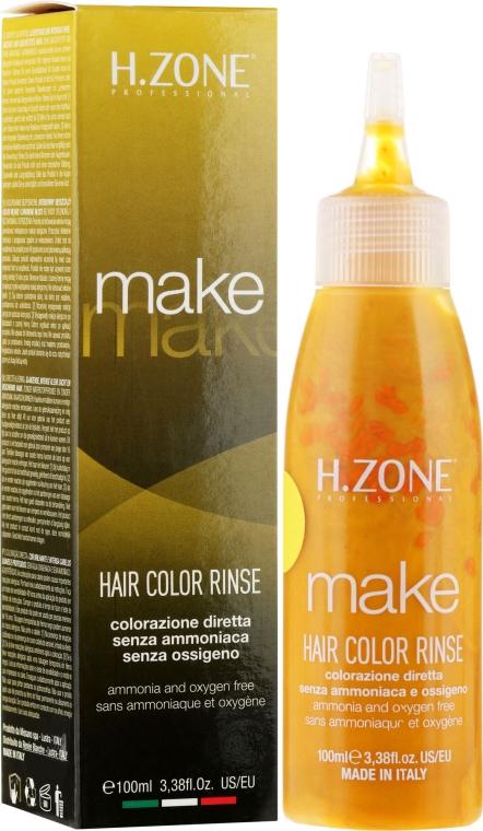 Краска для волос - H.Zone Make Up Hair Color Rinse — фото N1