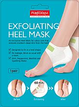 Духи, Парфюмерия, косметика Мака-пилинг для пяток - Purederm Exfolaiting Heel Mask
