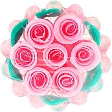 """Духи, Парфюмерия, косметика Натуральное глицериновое мыло """"Роза"""" корзинка, розовая - Bulgarian Rose Glycerin Soap Rose Fantasy"""