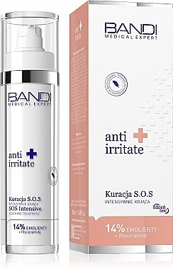 Успокаивающий крем для лица - Bandi Medical Expert Anti Irritate SOS Intensive Soothing Treatment — фото N1