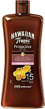 Духи, Парфюмерия, косметика Защитное сухое масло солнцезащитное SPF15 - Hawaiian Tropic Protective Oil SPF 15