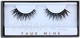 Духи, Парфюмерия, косметика Накладные ресницы №12 - Huda Beauty Faux Mink Lash 12