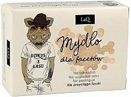 Духи, Парфюмерия, косметика Мыло для мужчин с активированным углем - LaQ Men Soap With Activated Carbon