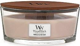 Духи, Парфюмерия, косметика Ароматическая свеча в стакане - Woodwick Sea Salt & Vanilla Scented Candle