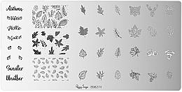 Духи, Парфюмерия, косметика Пластина для стемпинга - Peggy Sage Stamping Plate (1шт)