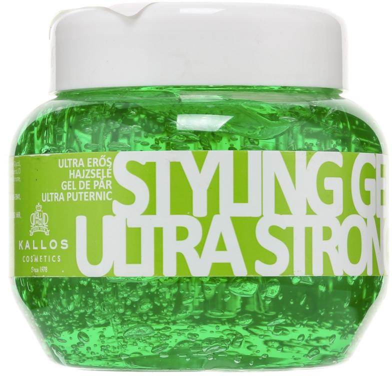 Гель для волос ультрасильной фиксации - Kallos Cosmetics — фото N1