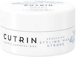 Духи, Парфюмерия, косметика Воск сильной фиксации без отдушки - Cutrin Vieno Sensitive Styling Wax Strong