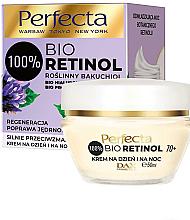 Духи, Парфюмерия, косметика Укрепляющий крем против морщин 70+ - Perfecta Bio Retinol 70+ Anti-Wrinkle Day And Night Cream-Firming