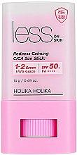 Духи, Парфюмерия, косметика Солнцезащитный стик - Holika Holika Less on Skin Redness Calming CICA Sun Stick SPF50+