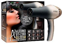 Духи, Парфюмерия, косметика Фен для волос - Iditalian Airlissimo GTI 2300 Gold Star