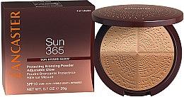 Духи, Парфюмерия, косметика Бронзирующая пудра - Lancaster 365 Sun Protecting Bronzing Face Powder SPF10 Adjustable Glow