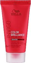 Духи, Парфюмерия, косметика Маска для яркости цвета жестких окрашенных волос - Wella Professionals Invigo Color Brilliance Vibrant Color Mask Coarse