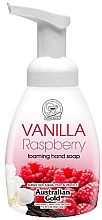 "Духи, Парфюмерия, косметика Мыло-пенка для рук ""Ваниль и малина"" - Australian Gold Foaming Hand Soap Vanilla Raspberry"