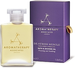 Духи, Парфюмерия, косметика Масло для ванны и душа - Aromatherapy Associates De-Stress Muscle Bath & Shower Oil