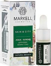 "Духи, Парфюмерия, косметика Aqua-флюид для кожи вокруг глаз ""Снежный гриб"" - Markell Cosmetics Skin&City Face Mask"