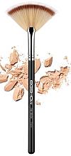 Духи, Парфюмерия, косметика Кисть для макияжа F654 - Eigshow Beauty Fan Brush