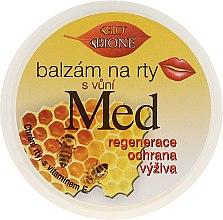 Духи, Парфюмерия, косметика Бальзам для губ - Bione Cosmetics Honey + Q10 With Vitamin E and Bee Wax Lip Balm