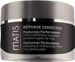 Духи, Парфюмерия, косметика Крем с гиалуроновой кислотой - Matis Reponse Corrective Hyaluronic Performance Cream