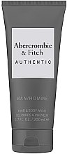 Духи, Парфюмерия, косметика Гель для душа - Abercrombie & Fitch Authentic Men Hair&Body Wash