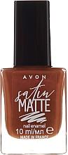 Духи, Парфюмерия, косметика Лак для ногтей - Avon Nail Style Studio Mark Satin Matte Nail Enamel Polish