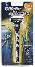 Духи, Парфюмерия, косметика Бритва с 1 сменныой кассетой - Gillette Mach 3 Razor Blade Turbo