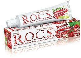 "Духи, Парфюмерия, косметика Зубная паста ""Аромат знойного лета со вкусом земляники"" - R.O.C.S. Teens"