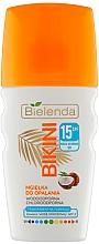 Духи, Парфюмерия, косметика Кокосовый спрей для лица и волос - Bielenda Bikini Tanning Mist SPF 15