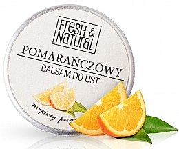 Духи, Парфюмерия, косметика Бальзам для губ с апельсином - Fresh&Natural Lip Balm