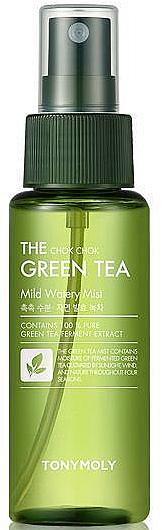 Спрей-мист для лица с экстрактом зеленого чая - Tony Moly The Chok Chok Green Tea Mild Watery Mist — фото N1