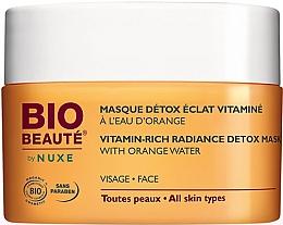 Духи, Парфюмерия, косметика Детокс-маска для лица с апельсиновой водой - Nuxe Bio Beaute Vitamin Rich Detox Mask