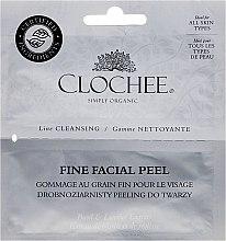 Духи, Парфюмерия, косметика Мелкозернистый скраб для лица (сашет) - Clochee Cleansing Fine Facial Peel