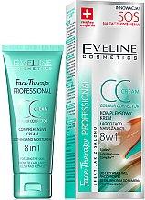 Духи, Парфюмерия, косметика CC крем успокаивающе-укрепляющий - Eveline Cosmetics Therapy