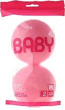 Духи, Парфюмерия, косметика Набор мочалок, 2 шт, розовые - Suavipiel Baby Soft Sponge