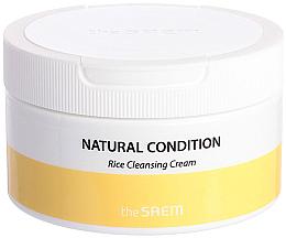 Духи, Парфюмерия, косметика Крем очищающий рисовый - The Saem Natural Condition Rice Cleansing Cream