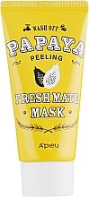 """Духи, Парфюмерия, косметика Очищающая, осветляющая пилинг-маска """"Папайя"""" - A'pieu Fresh Mate Mask"""