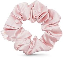 Духи, Парфюмерия, косметика Шелковая резинка для волос, розовая - Crystallove