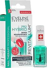 Духи, Парфюмерия, косметика Гибридная сыворотка для ногтей - Eveline Cosmetics Nail Therapy Professional Revitalum Pro Hybrid