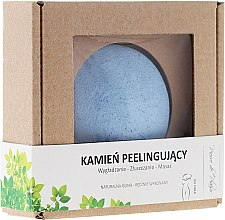 Духи, Парфюмерия, косметика Натуральный камень для пилинга тела, голубой - Pierre de Plaisir Natural Scrubbing Stone Body
