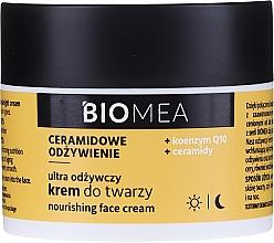Духи, Парфюмерия, косметика Питательный крем для лица для дня и ночи с коэнзимом Q10 - Farmona Biomea Nourishing Face Cream